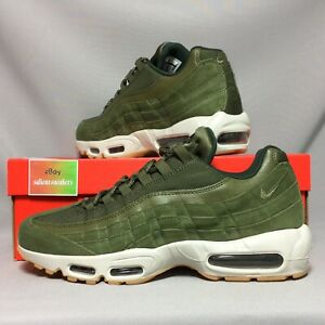 8cc4afc72f Nike Air Max 95 SE UK11 AJ2018-300 EUR46 US12 olive army green suede ...