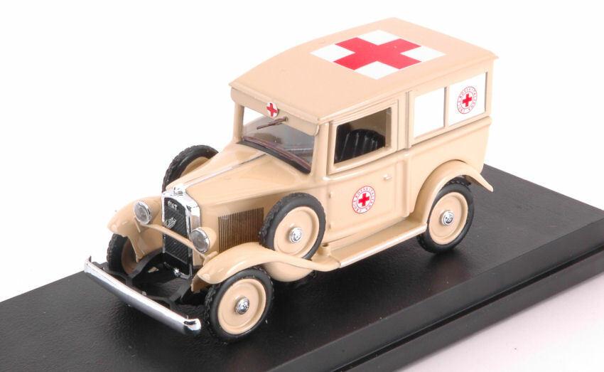 Fiat Balilla Ambulanza Africa 1935 1 43 Model RIO