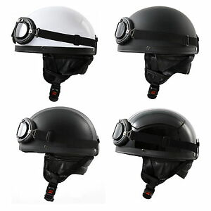 retro oldtimer motorradhelm brille motorrad helm f r ddr. Black Bedroom Furniture Sets. Home Design Ideas