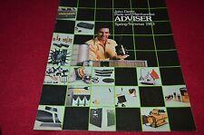 John Deere Parts & Merchandise Advisor Spring Summer 1983 Dealers Brochure BWPA