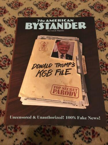 The American Bystander #11 Comedy Magazine 2019 Trump