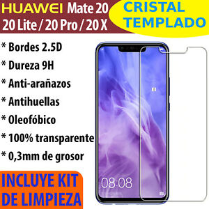 Cristal-Templado-Protector-De-Pantalla-Para-Huawei-Mate-20-Lite-Pro-X