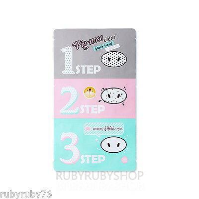 [Holika Holika] Pig Nose Clear Black Head 3 Step Kit