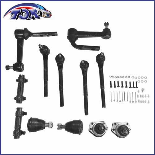 New 12Pcs Complete Front Suspension Kit For 90-05 Chevrolet Astro GMC Safari 2WD