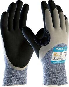12 x MaxiCut Oil 34-505 3/4 Coated KW Heavy Duty High Cut Protection Gloves