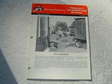 Massey Ferguson MF 88 Crop Blower Product Information Manual Book