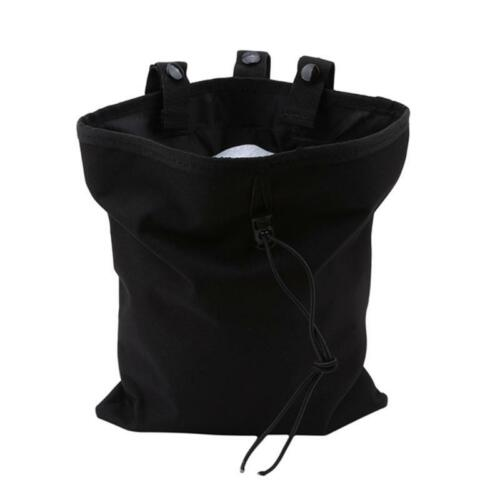 Tactical Dump Drop Waist Bag Molle Magazine Camera Pouch Airsoft Military C