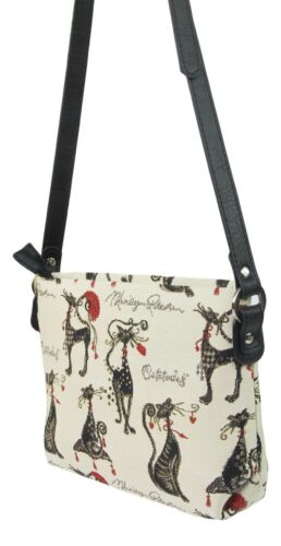 Catitude Cat Design Tapestry Small Pouch Crossbody Bag  Signare