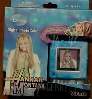 Disney Hannah Montana Digital Photo Cube - Up To 70 Photos - Brand In Box