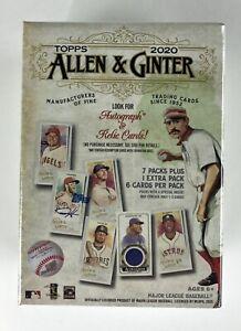 2020 ALLEN & GINTER Baseball 8 pack Blaster Box Factory Sealed Retail 48 cards