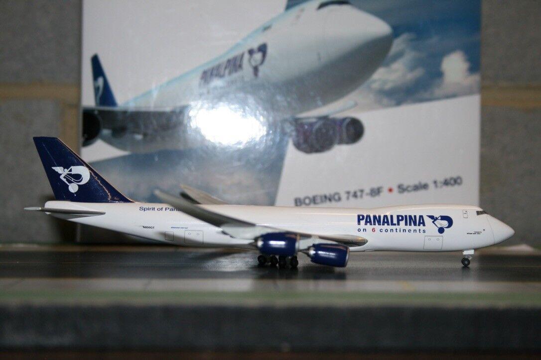 Avión Aero le Lysia 1 400 Compañias Boeing 747-8F N850GT  Atlas Air  modelo de avión