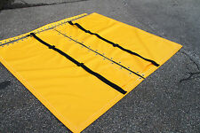 Hobie Cat 16 Yellow Vinyl Trampoline TWO Pocket 4 Point Adjustable Straps