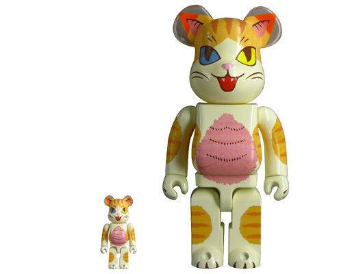 Medicom Toy Be@rbrick Bearbrick Negora Odd-eye 100% & 400% Konatsu New odd eye
