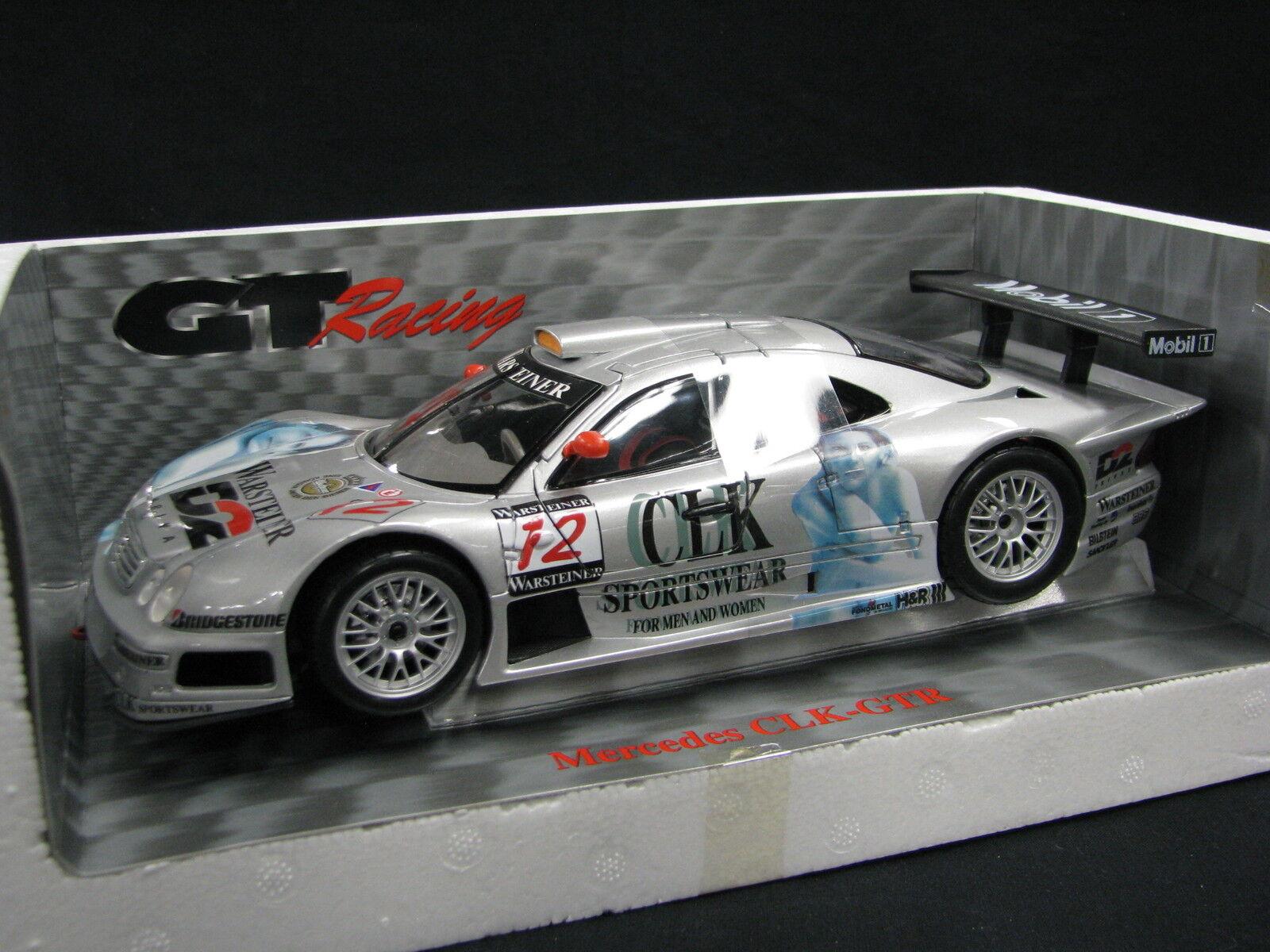 Maisto D2 Mercedes-Benz CLK-GTR 1997 1 18 Ludwig   Mayländer FIA GT (JS)