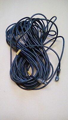 Ex Mod Clansman RF Cable BNC//BNC 20mtr NSN 5995 99 620 5803