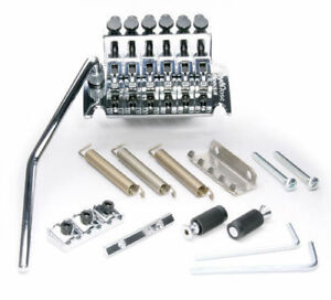* Nouveau Floyd Rose Special Locking Tremolo Pont & R2 Écrou Électrique Chrome Original Equipment Manufacturer Vente-afficher Le Titre D'origine