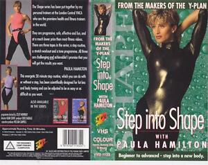 EXERCISE-STEP-INTO-SHAPE-VHS-VIDEO-PAL-A-RARE-FIND