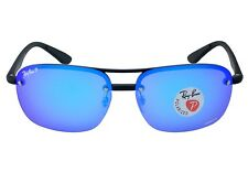 10ae817efd Ray-Ban Sunglasses Chromance Polarized Blue Mirror Lens Black FR Rb4275ch  601 a1
