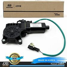 GENUINE Fits 97-01 Hyundai Tiburon Power Window Motor Front Left OEM 82450-27000