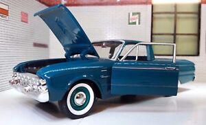 G LGB 1:24 échelle FORD RANCHERO 1960 Pickup Ute CAMION Modèle Miniature