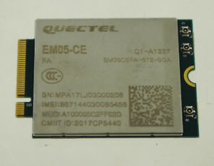 Details about Quectel Wireless EM05-CE IoT/M2M Optimized 4G LTE Cat 4 M 2  Module NEW