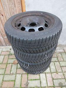 BMW-1er-f20-f21-195-55-r16-87h-pneus-hiver-faucons-sur-acier-jantes-6-6-5mm