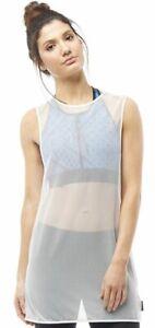 2019 DernièRe Conception Reebok Women's Cardio Studio Net Débardeur Fashion Tank Taille Xs-afficher Le Titre D'origine