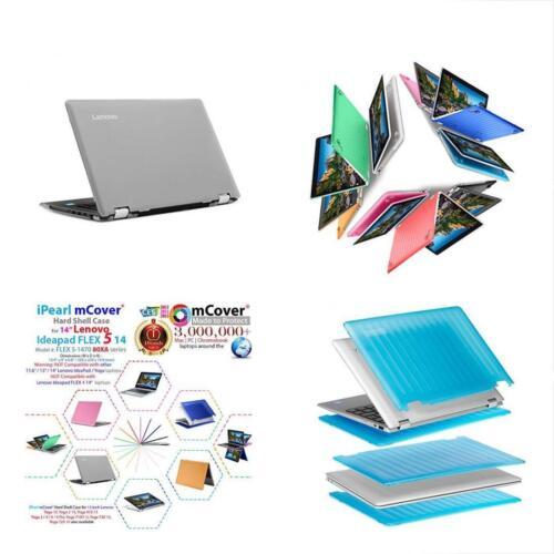 "5-1470, IPearl MCover Folio Cases Hard Shell For NEW 14/"" Lenovo Ideapad FLEX"