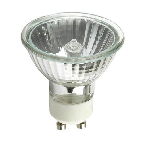 GE EXN G10 50w 120V MR16 GU10 Bright White Flood FL50 w// FG Halogen Light Bulb