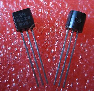 3 PCS 2N6027 6027 TRANS PROG UNIJUNCT 40V TO92 NEW