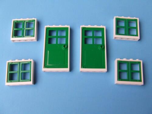 New Lego City Friends Creator Modular Town House Doors Windows Sets