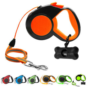 Retractable-Dog-Leash-26-ft-10-ft-16-ft-Heavy-Duty-Dog-Rope-Tape-Lead-Walk