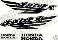 Honda 440ex Decal/sticker Set Free Shipping And Color Choice