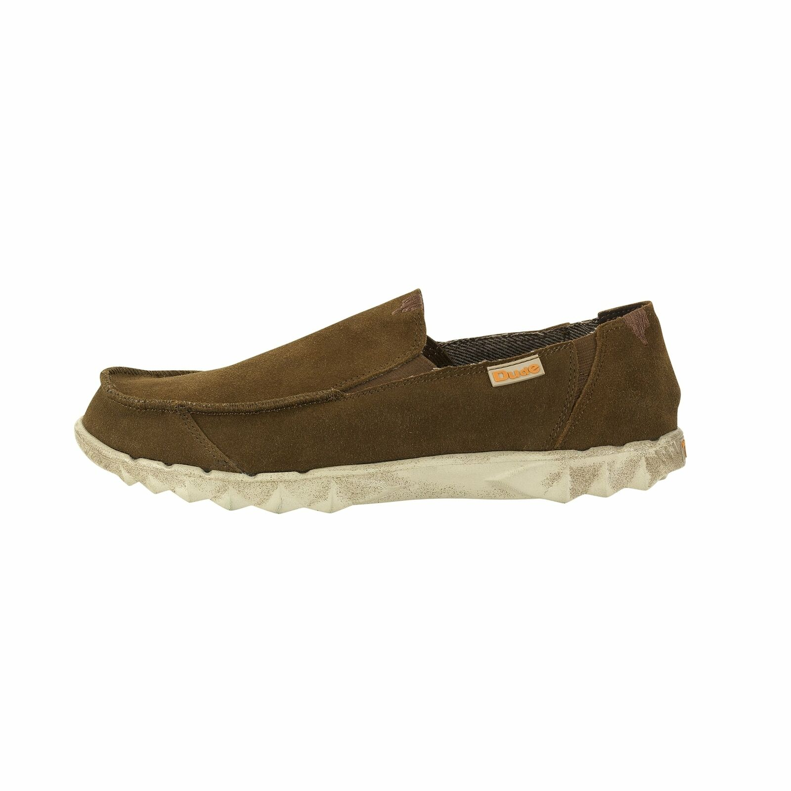 Hey Dude shoes Mens Farty Nut Suede Slip On Mule