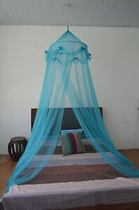 OctoRose-hoop-with-ribbon-bed-canopy-mosquito-net-fit-all-size-bed-many-color