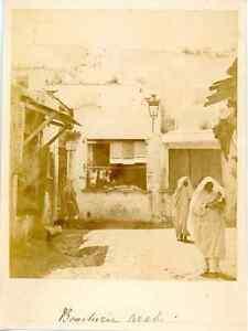 Algerie-Boucherie-Arabe-Vintage-albumen-print-Tirage-albumine-10x13