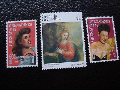 1312 1324 1359 N Mnh al1 Grenadinen Briefmarke Yvert/tellier Nr