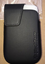 BlackBerry Curve 9320,9310,9220 OEM Leather Swivel Holster Black
