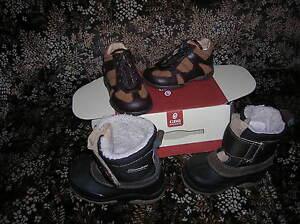 lot-chaussures-NEUVES-20-bebe-garcon-CUIR-GBB-catimini-val-75-eur-apres-ski