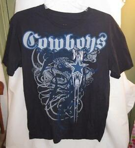 fe5b04591 Dallas Cowboys Tshirt Size L Large Geometric Logo Football NFL Black ...