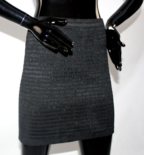 Betsey Johnson punk label smocked skirt