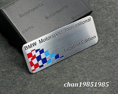 Motorsport Aluminum Body Side Emblem Sticker Decal Badge Fit For BMW G128