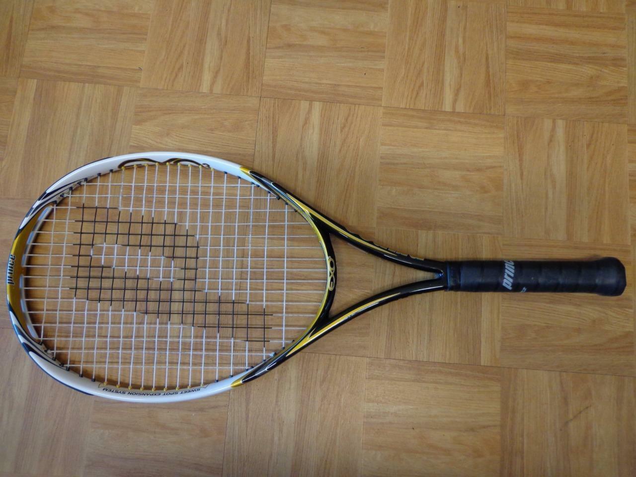 Prince EXO3 Hybrid Hybrid Hybrid oro 107 head 4 1/2 grip Tennis Racquet fe57ad