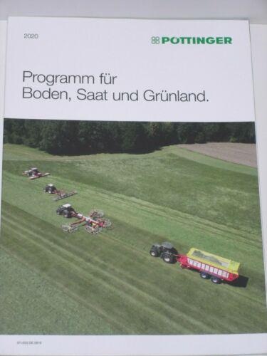 PÖTTINGER Programm 2020 für Boden Saat und Grünland Prospekt 618
