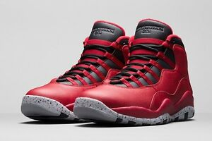 Buy Nike Air Jordan 10 Gym Red Black Wolf Grey 705178 601