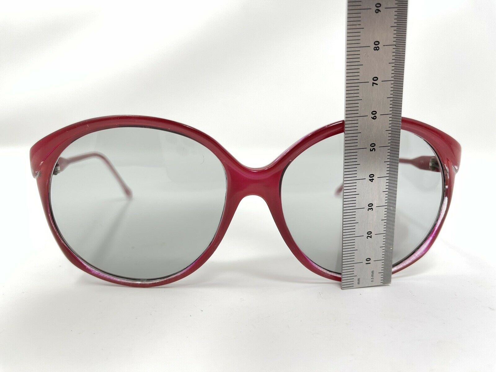 vintage Sunglasses Big Photocromatic Red SUNGLASS… - image 12
