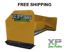 12 Snow Pusher Boxes Bucket Mount Backhoe Loader Express Steel Free Shipping