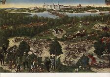 Alte Kunstpostkarte - Lucas Cranach d.J. - Hirschjagd des Kurfürsten...
