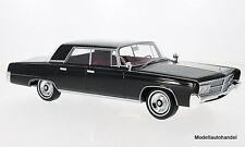 Imperial Crown 4-Door 1965  schwarz 1:18 BOS