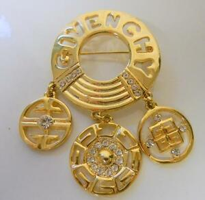 Runway Pin Brooch CoutureEbay Givenchy Charms Vintage W kuiZPX